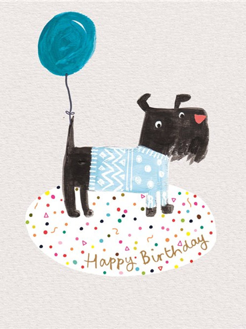 Happy Birthday Balloon Dog