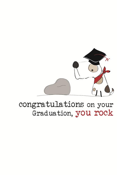 Congratulations On Your Graduation You Rock