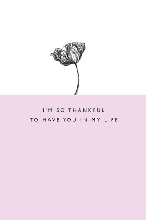 I'm So Thankful
