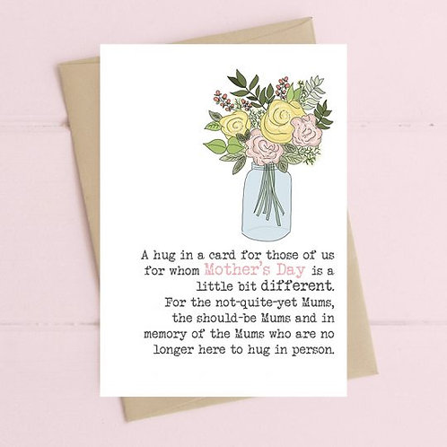 A Hug In A Card For Mother's Day