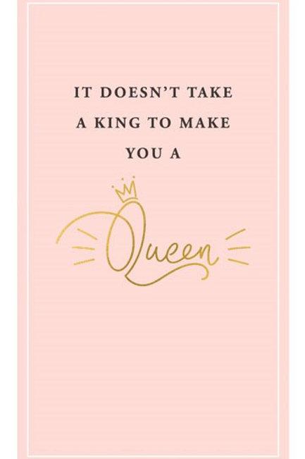 It Doesn't Take A King
