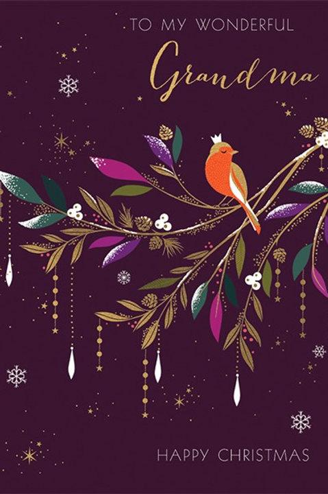To My Wonderful Grandma Happy Christmas