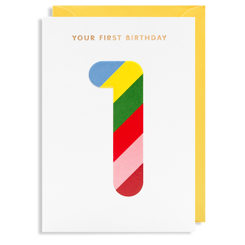 1 Your First Birthday
