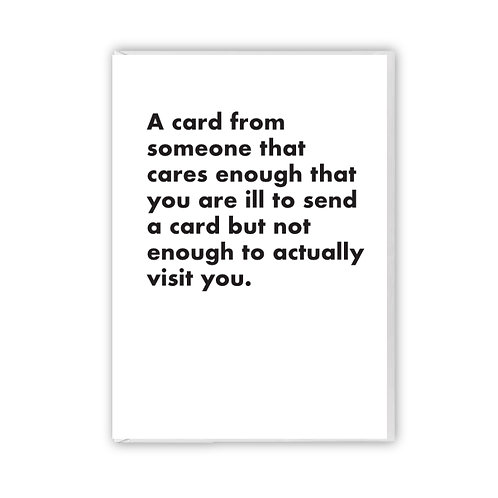 A Card From Someone That Cares Enough