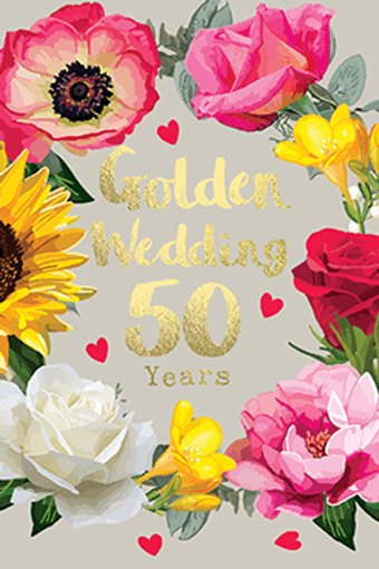 Golden Wedding 50 Years