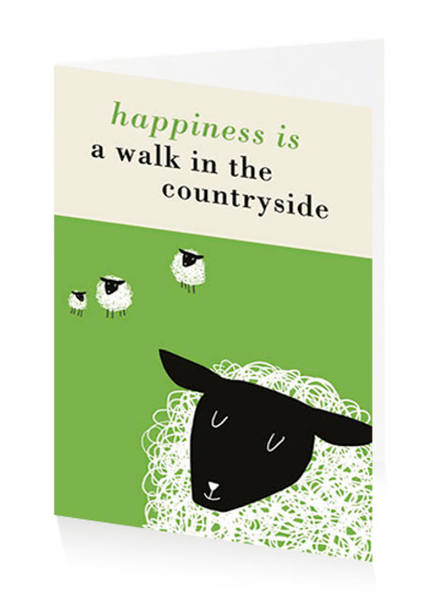 Happiness Is A Walk In The Countryside