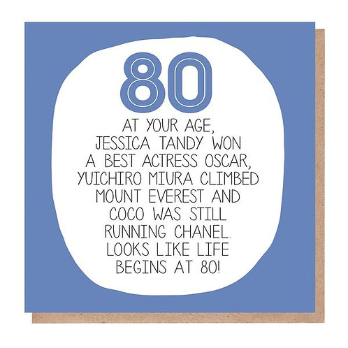 80 At Your Age
