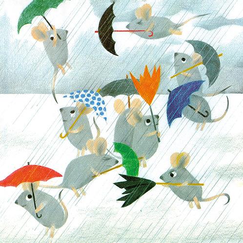 Mice With Umbrellas