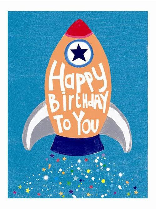 Happy Birthday Rocket