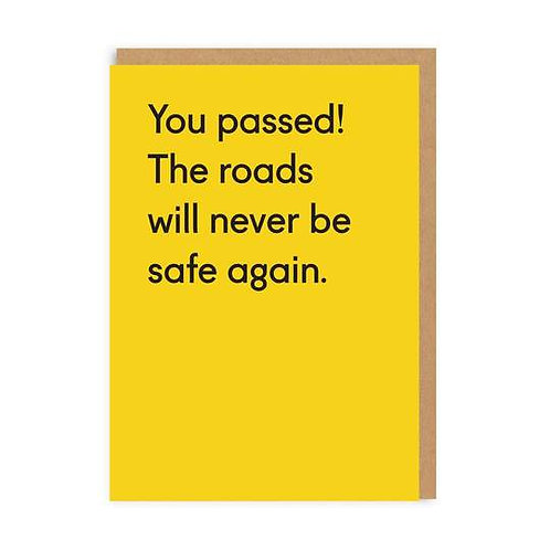 You Passed
