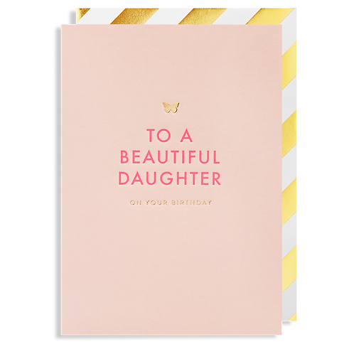 To A Beautiful Daughter On Your Birthday