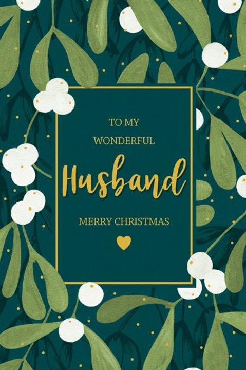 To My Wonderful Husband Merry Christmas