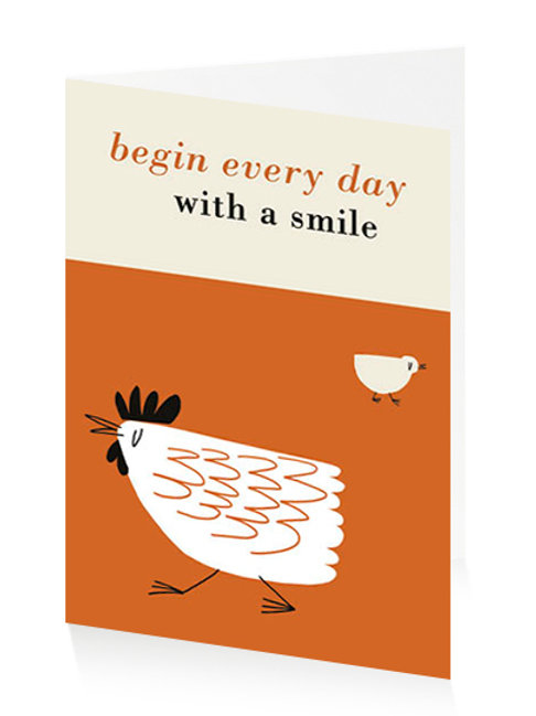 Begin Every Day With A Smile