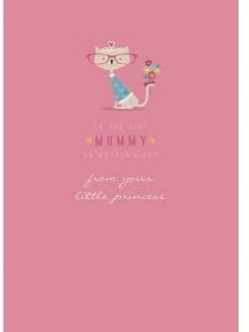 To The Best Mummy On Mother's Day From Your Little Princess