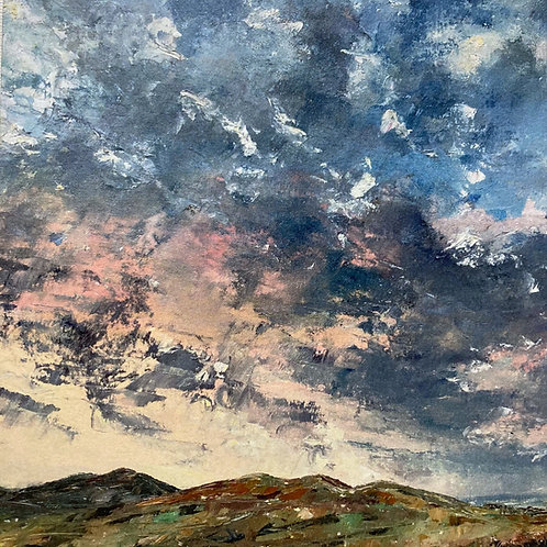 Flirting Clouds Over Malvern