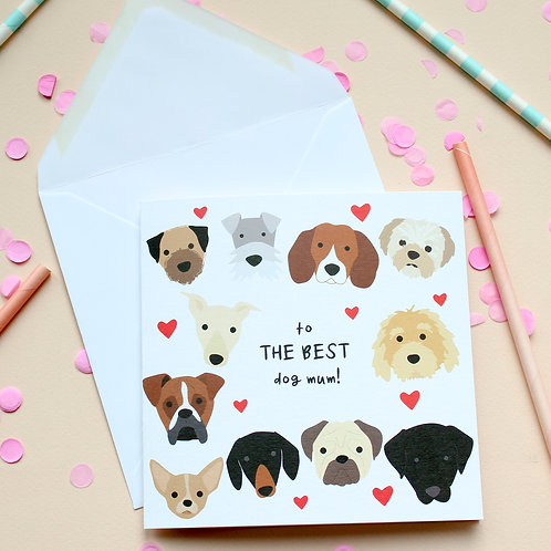 To The Best Dog Mum