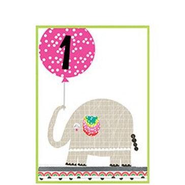 Elephant With Balloon, 1