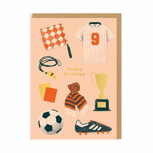 Happy Birthday Football