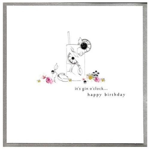 It's Gin O'Clock Happy Birthday