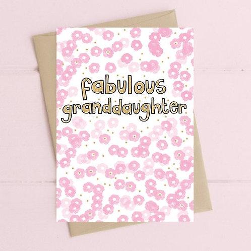 Fabulous Granddaughter