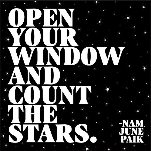 Open Your Window And Count The Stars