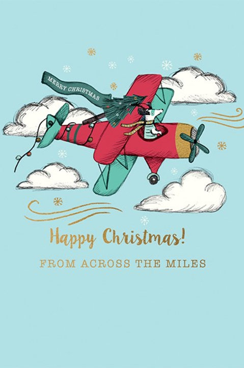 Happy Christmas From Across The Miles
