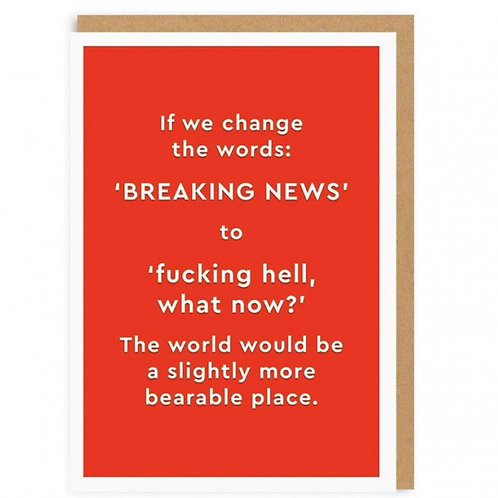 If We Change The Words