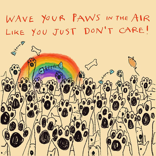 Wave Your Paws In The Air