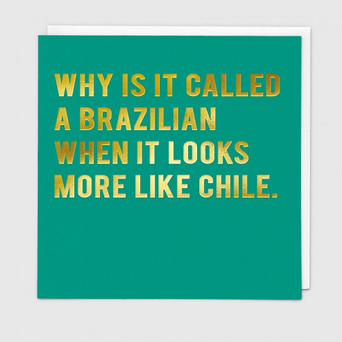 Why Is It Called A Brazilian