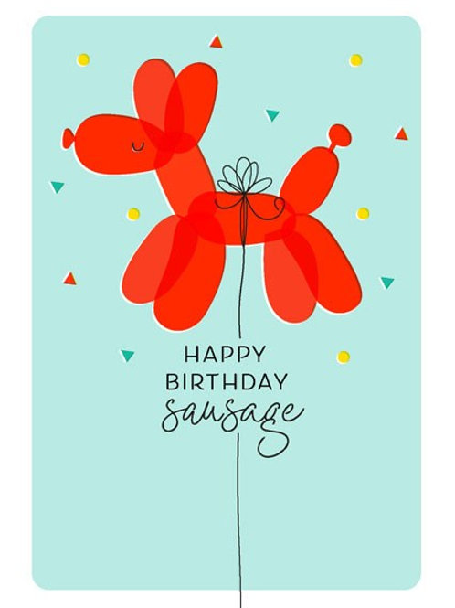 Happy Birthday Sausage