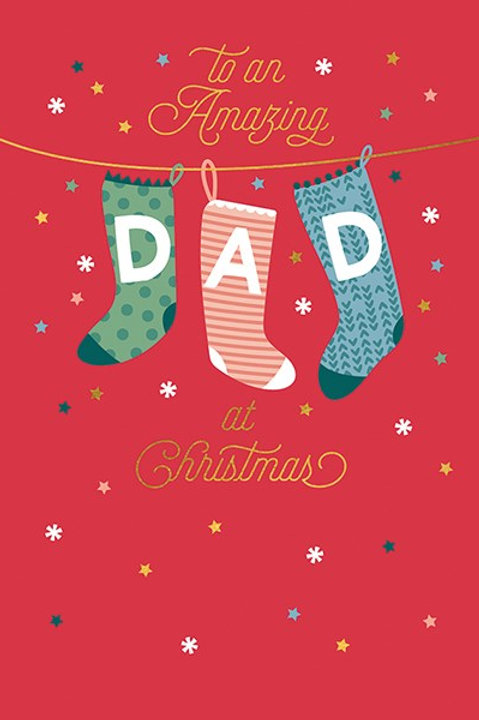 To An Amazing Dad At Christmas