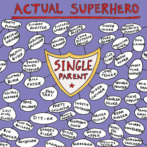 Actual Superhero Single Parent