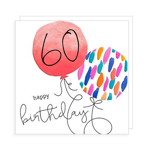60 Happy Birthday