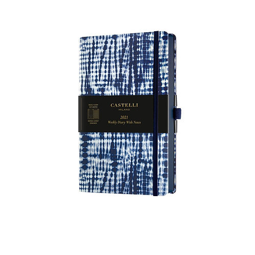 Castelli Shibori 2021 Weekly Notes Diary