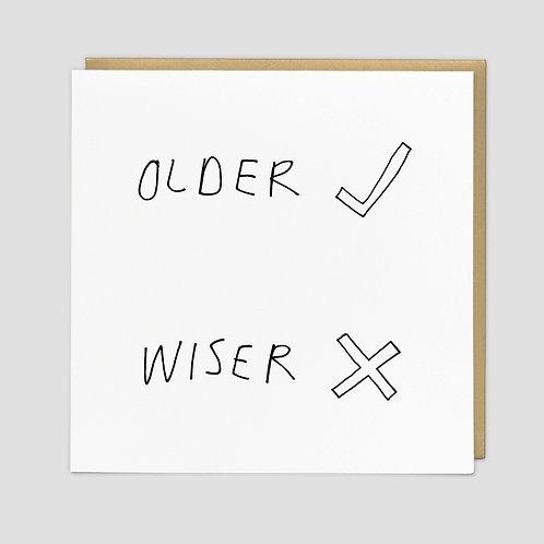 Older Wiser