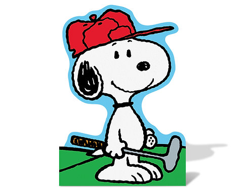 Snoopy Plays Golf