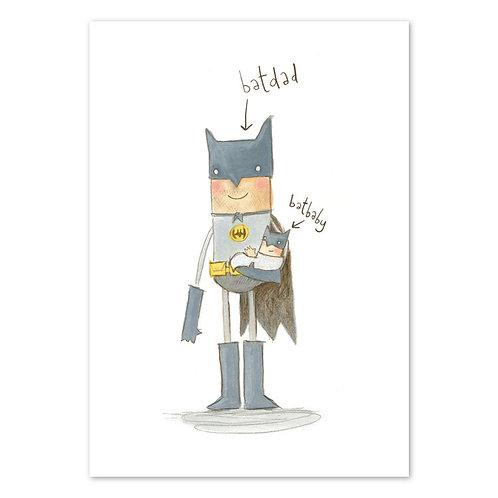 Batdad And Batbaby