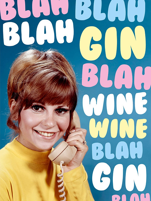 Blah Blah Blah Gin Blah Wine