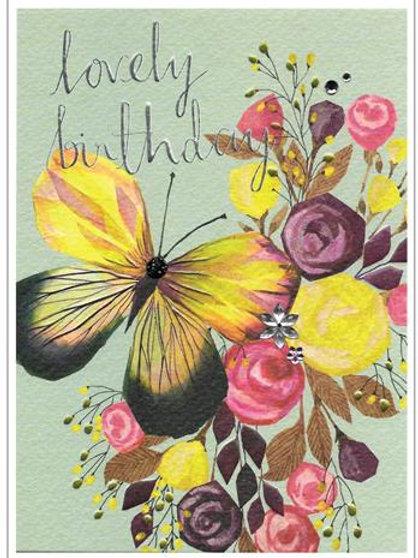 Lovely Birthday Butterfly