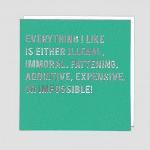 Everything I Like