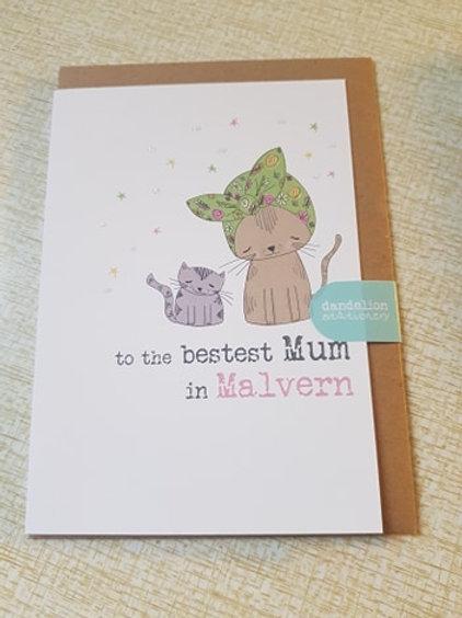 To The Bestest Mum In Malvern