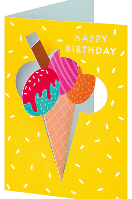 Happy Birthday Ice Cream Pop-Up