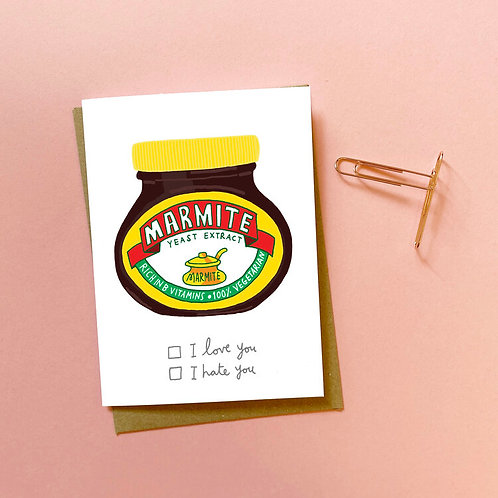 Marmite Love You Hate You