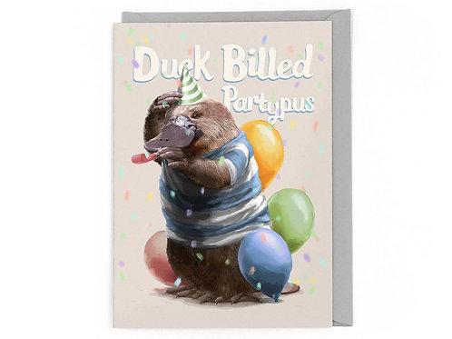 Duck Billed Partypus