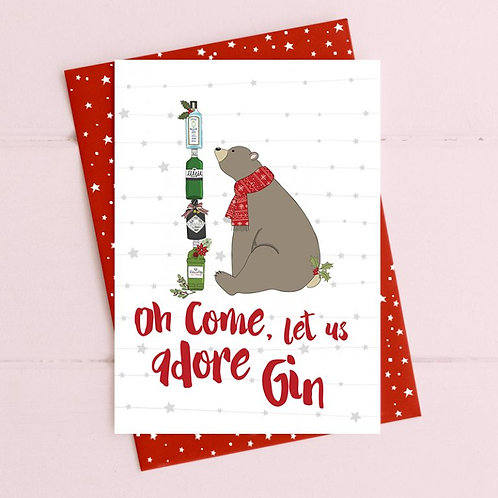 Oh Come Let Us Adore Gin