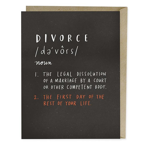 Divorce The First Day Of The Rest Of Your Life