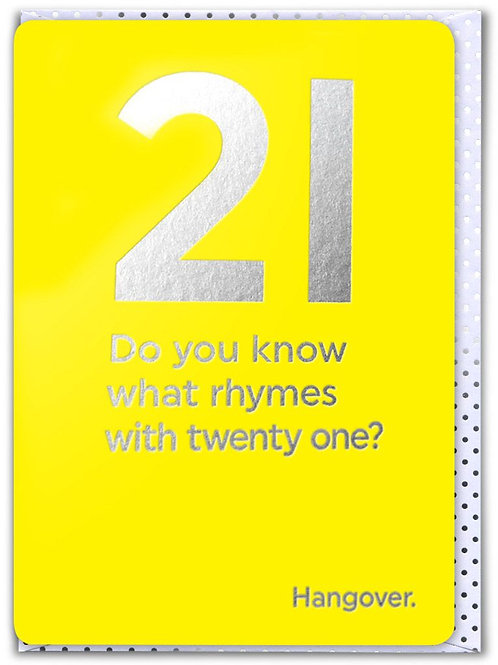 21 Do You Know What Rhymes