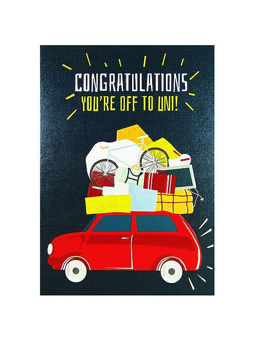 Congratulations You're Off To Uni