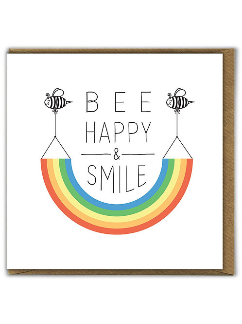 Bee Happy And Smile