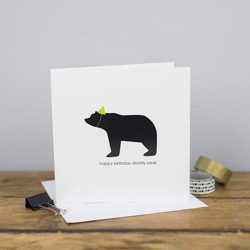 Happy Birthday Daddy Bear